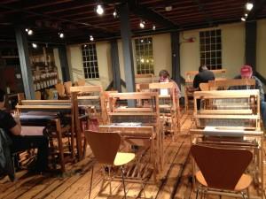 Slater Mill Weaving Studio